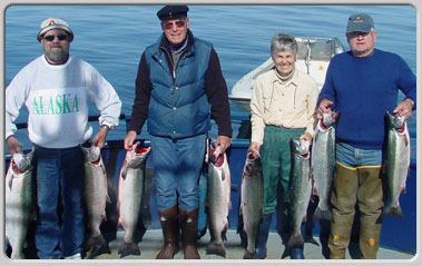 Kodiak Fishing for Halibut and Salmon